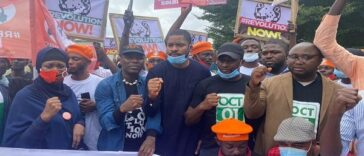 RevolutionNow Protests Hits Abuja, Ibadan On Independence Day Amidst Heavy Security [Photos] 27