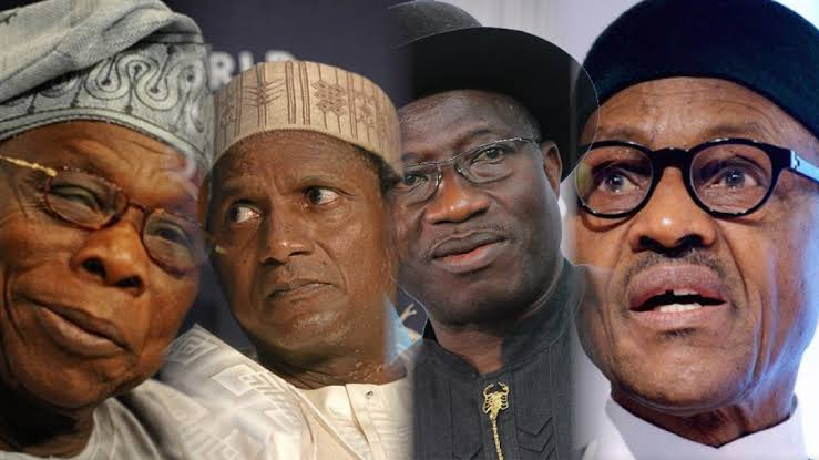 President Buhari Blames Obasanjo, Yar'Adua, Jonathan For 'Near Destruction Of Nigeria' 1