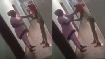 Nigerian Mother Disgraces Her Daughter After Catching Her With A Man In Hotel Room [Video] 5