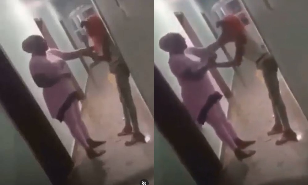 Nigerian Mother Disgraces Her Daughter After Catching Her With A Man In Hotel Room [Video] 1