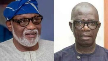 Governor Akeredolu Says If Ajayi Has Honour, He Should Resign As Ondo Deputy Governor 5