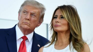 US President, Donald Trump And His Wife, Melania Tests Positive For Coronavirus 1