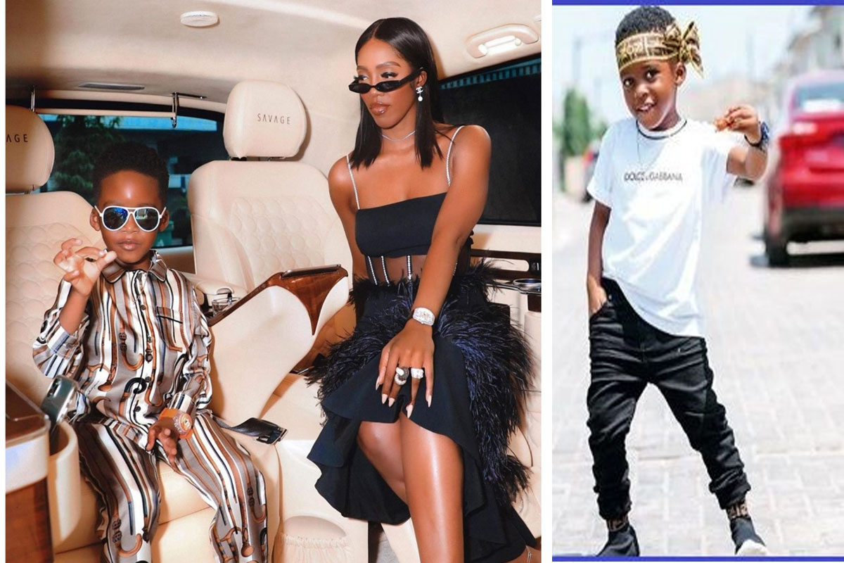Tiwa Savage And Her Son, Jamil Balogun Bag Endorsement Deal 1