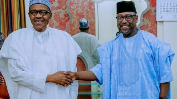 """""""We're Going Through Hell In Niger"""" - Governor Bello Tells President Buhari 2"""