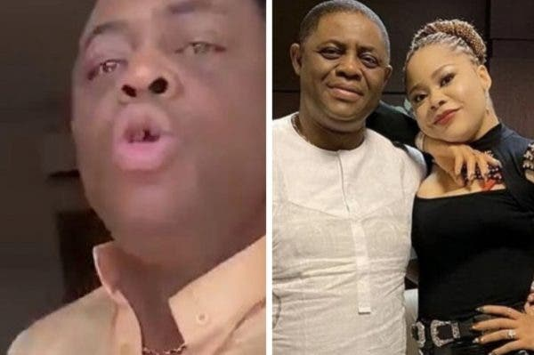 """I Caught Her In Bed With Married Man"" - Fani-Kayode Reacts To Video Of Him Abusing His Ex-Wife, Precious 1"