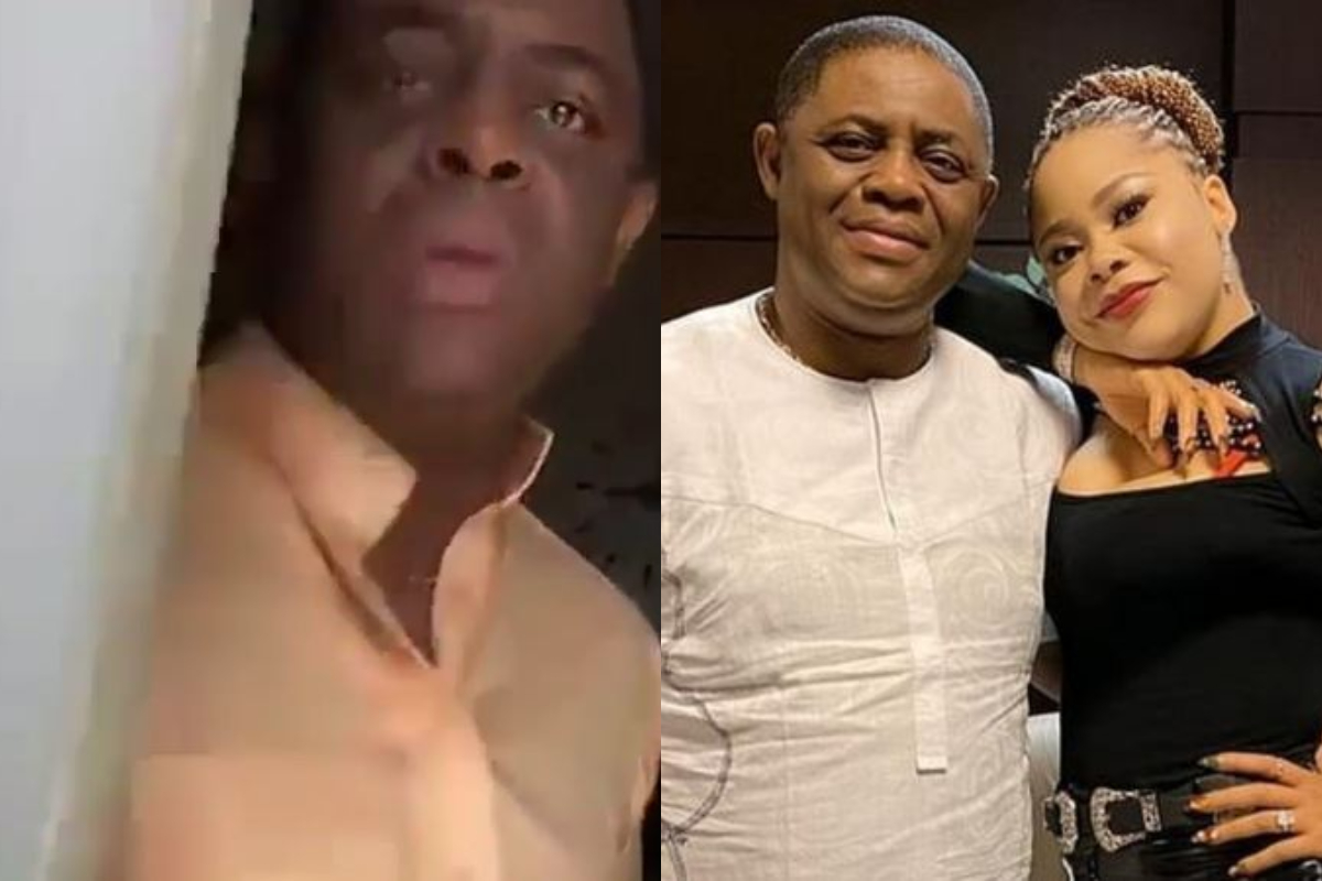 Fani-Kayode Caught On Camera Assaulting His Now Estranged Wife, Precious Chikwendu [Video] 1