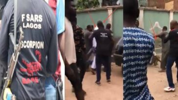 SARS Allegedly Kills Man In Front Of Hotel In Delta, Flees With His Car [VIDEO] 5