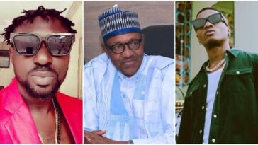 """""""Why Don't You Face Your Music Small Man"""" - Blackface Attacks Wizkid For 'Insulting' Buhari 7"""
