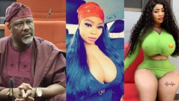 Senator Dino Melaye Reacts To Video Of Curvy Model, Roman Goddess Who Allegedly Visited Him At Night In Hotel 8