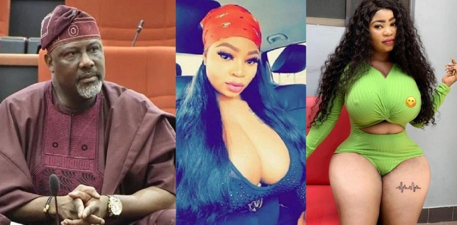 Senator Dino Melaye Reacts To Video Of Curvy Model, Roman Goddess Who Allegedly Visited Him At Night In Hotel 1