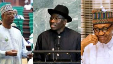 Jonathan Accepts Shagari Son's Apology Over Role In 2015 Election That Made Buhari Win 1