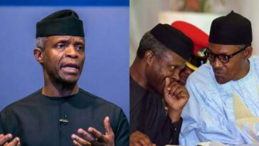 """Buhari Feels The Pain Of Nigerians, He's Considering Palliatives For Citizens"" - Osinbajo 2"