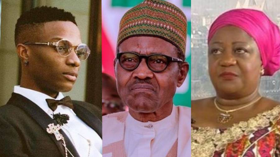 """Shame On You"" - Wizkid Blast President Buhari's Aide, Lauretta Onochie For Calling Him A 'Dumb Kid' 1"