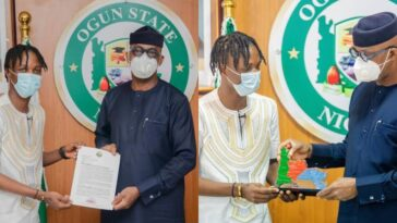 Laycon Becomes Ogun Youth Ambassador, Receives House, N5Million From Governor Abiodun 1