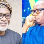Ondo Election: Governor Akeredolu Rejects Deputy Ajayi's Handshake As They Sign Peace Accord 28