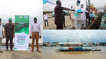 ANAMBRA: Onitsha Sea Port Becomes Functional After 42 Years Of Abandonment [Photos/Video] 1