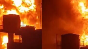 Five People Confirmed Dead As Gas Station Explodes In Baruwa Area Of Ipaja, Lagos [Video] 3