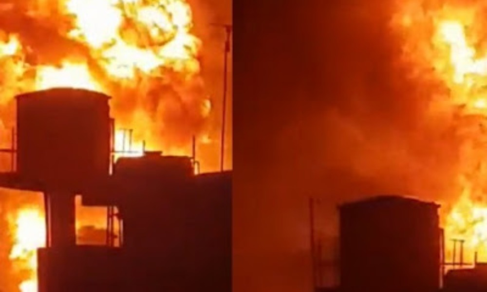 Five People Confirmed Dead As Gas Station Explodes In Baruwa Area Of Ipaja,  Lagos [Video] | Kanyi Daily