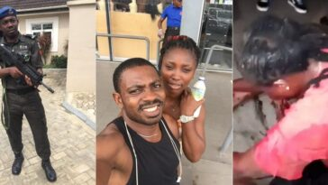 Police Officer Who Shot Lady In Her Mouth In Lagos Identified As Sergeant Eze Aiwansoba 2