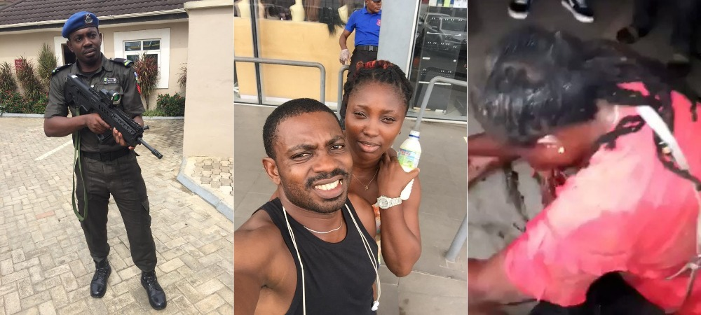 Police Officer Who Shot Lady In Her Mouth In Lagos Identified As Sergeant Eze Aiwansoba 1