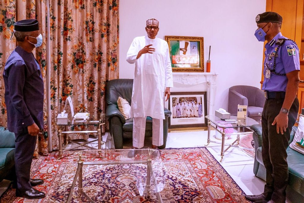 EndSARS: My Determination To Reform The Police Should Never Be In Doubt - President Buhari 1