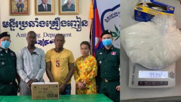 Nigerian Man Arrested While Attemping To Smuggle 993.42 Grams Of Drugs Into Australia 2