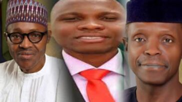 """Bunch Of Disappointments, Cover Your Faces In Shame"" - Pastor Giwa Attacks Buhari, Osinbajo 2"