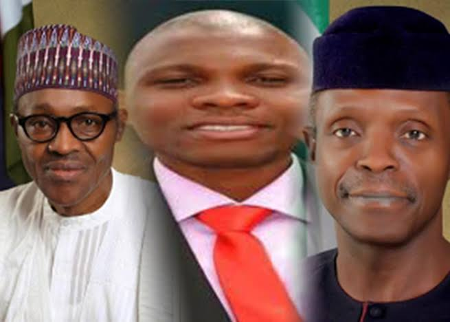 """""""Bunch Of Disappointments, Cover Your Faces In Shame"""" - Pastor Giwa Attacks Buhari, Osinbajo 1"""