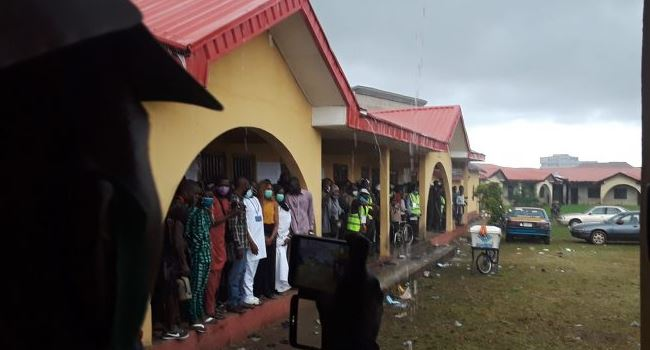 Ondo Election: Heavy Rainfall Disrupts Voting Process, Destroys Polling Booths In Ijebu, Akure 1