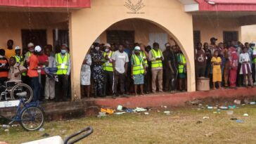 Ondo Election: Heavy Rainfall Disrupts Voting Process, Destroys Polling Booths In Ijebu, Akure 2