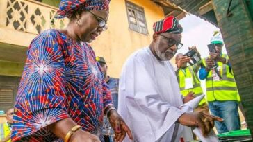Ondo Election: Gov Akeredolu And Wife Cast Their Votes, Expresses Confidence In Winning 7