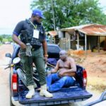 Ondo Election: Police Rescues Man From Being Lynched For Alleged Vote-Buying In Owo 28