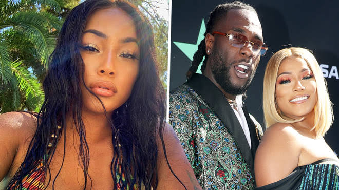 #EndSARS: Stefflon Don Defends Burna Boy, Says He's Doing More 'Behind The Scenes' To End SARS 1
