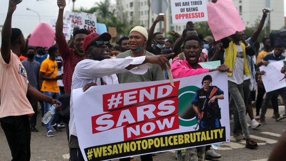 #EndSARS: Over 11,000 Sign Petition To Ban Top Public Officers, IGP, Others From US 1