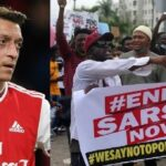 #EndSARS: What Is Going On In Nigeria Is Horrible – Arsenal Player, Mesut Ozil Declares 28