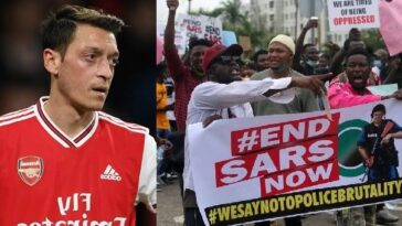 #EndSARS: What Is Going On In Nigeria Is Horrible – Arsenal Player, Mesut Ozil Declares 12