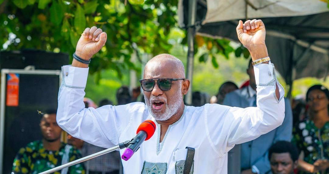 BREAKING: Rotimi Akeredolu Of APC Declared Winner Of Ondo Governorship Election 1