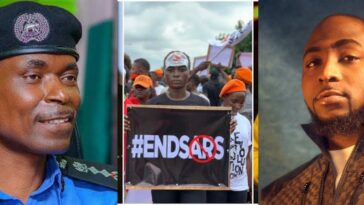 Davido To Meet IGP Adamu On Monday, Says #EndSARS Protest Is Far From Over 4