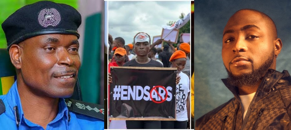 Davido To Meet IGP Adamu On Monday, Says #EndSARS Protest Is Far From Over 1
