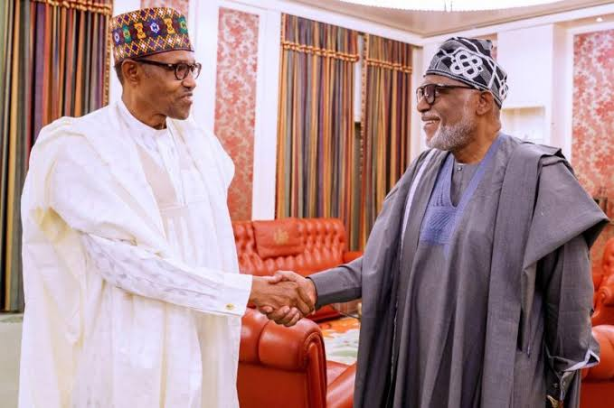 Ondo Election: Akeredolu's Victory Shows One Good Turn Deserves Another - Buhari 1