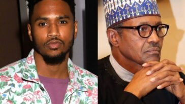 "#EndSARS: ""People Say You're Full Of Sh*t"" – US Singer, Trey Songz Blast President Buhari 16"