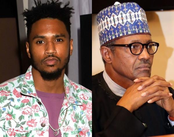 "#EndSARS: ""People Say You're Full Of Sh*t"" – US Singer, Trey Songz Blast President Buhari 1"