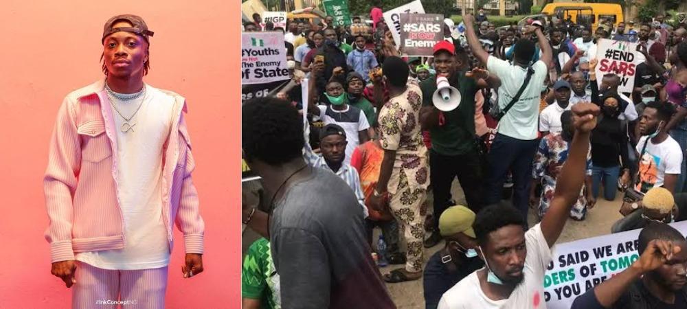 #EndSARS Protest: Singer, Oxlade Injured While His Manager Gets Arrested And Tortured In Surulere [Video] 1