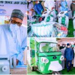 President Buhari Launches Motorcycle, Keke-Napep, Others For Youth Empowerment Scheme [Photos] 28
