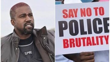 """Buhari Must Answer The Cries Of Nigerians"" - Kanye West Reacts To #EndSARS Protests 7"