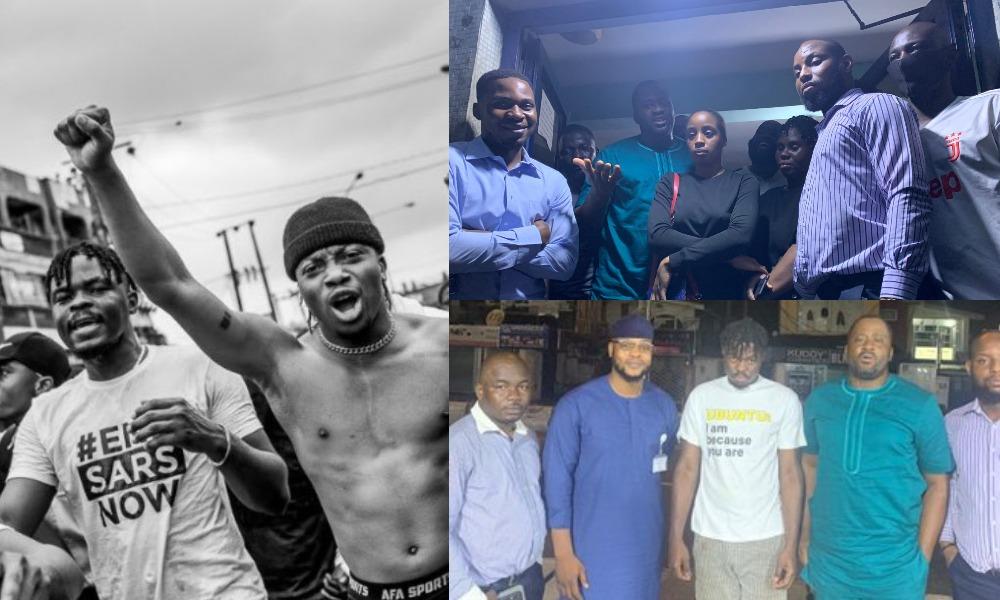 #EndSARS: Desmond Elliot Secures Release Of Oxlade's Manager, Ojabodu Ademola, 5 Other Protesters 1