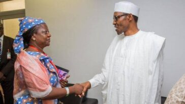 President Buhari Appoints His Media Aide, Lauretta Onochie As INEC Commissioners 3