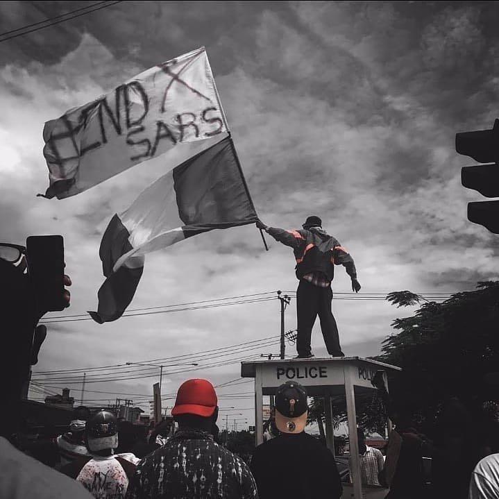Massive #EndSARS Protest holds in Port Harcourt despite ban by Governor Wike (VIDEO) 2