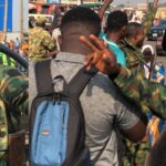 #EndSARS: Nigerian Soldiers Lead Peaceful Protest Against Police Brutality In Ibadan [Photos/Video] 27