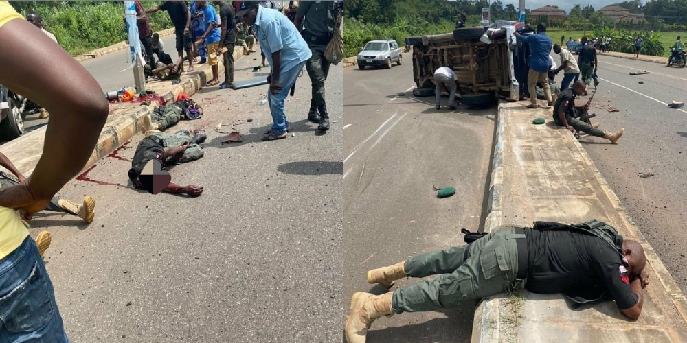 Two Police Officer Dies, Many Other Injured In Fatal Accident At Akure Airport Road [Photos/Video] 1